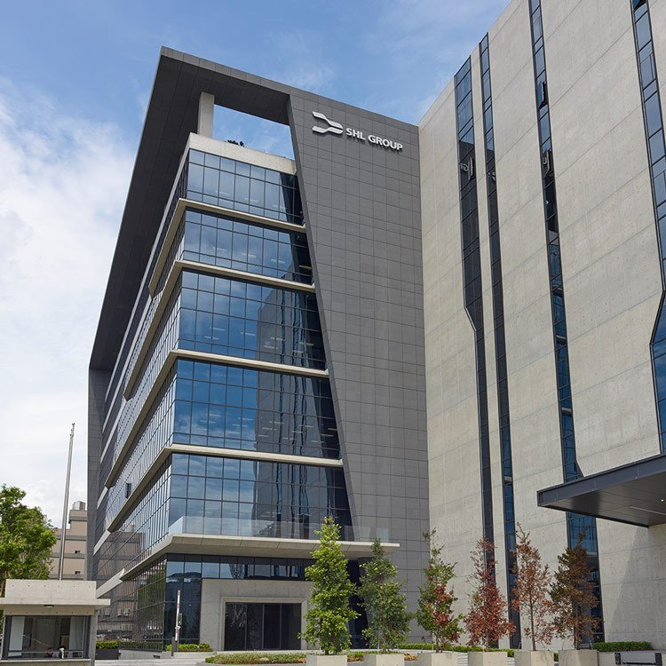 Medtech Contract Manufacturing by SHL Healthcare. SHL Group office.